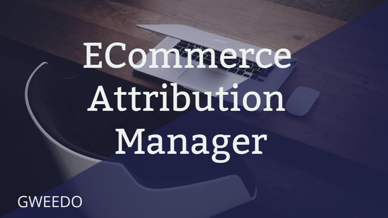 Gweedo Attribution Manager: Ecommerce